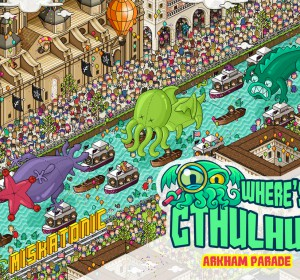 <span>Where's Cthulhu? Arkham Parade</span><i>→</i>
