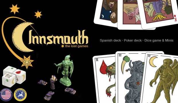 innsmouth lost games, lovecraft playing cards