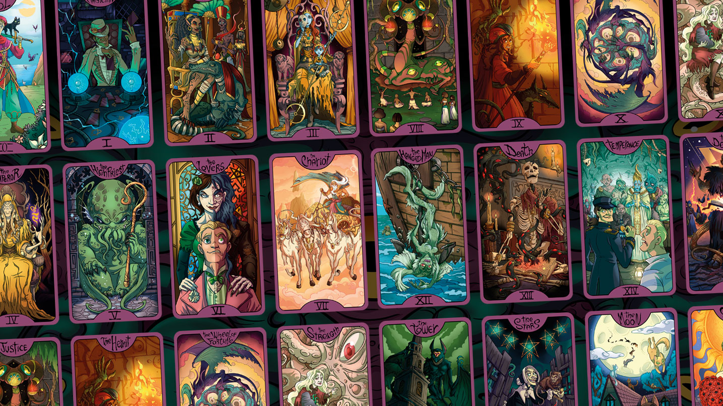 lovecraft tarot cards