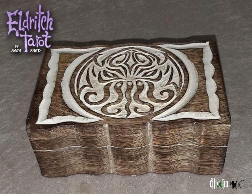 cthulhu wooden box