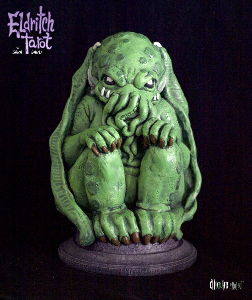 Eldritch Tarot Cthulhu idol